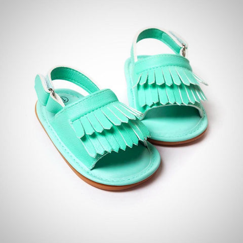baby moccasins tassel shoes - Juniorshopstyle