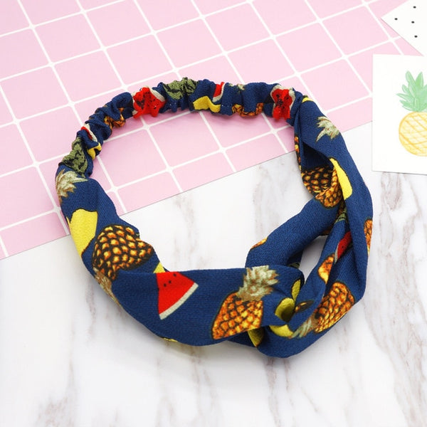 Fashion Women Girls   Bohemian Hair Bands Print Headbands Vintage - Juniorshopstyle