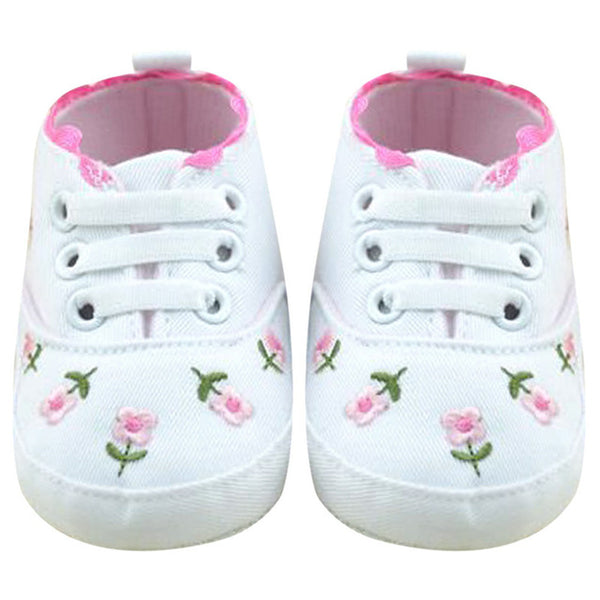 White Lace Baby Girl Shoes - Juniorshopstyle
