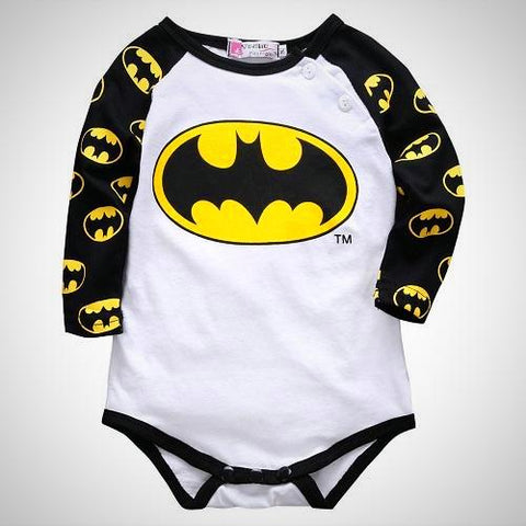 baby super hero Long sleeve suit - Juniorshopstyle