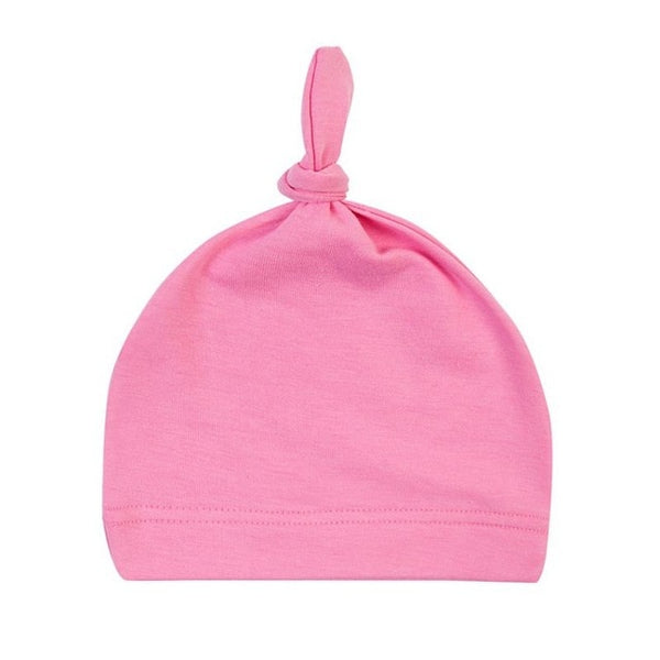 Newborn Baby Cotton Girls Sleep Caps - Juniorshopstyle