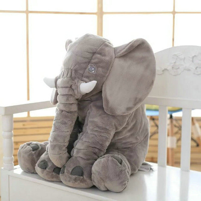 Big  Soft Elephant Pillow - Juniorshopstyle