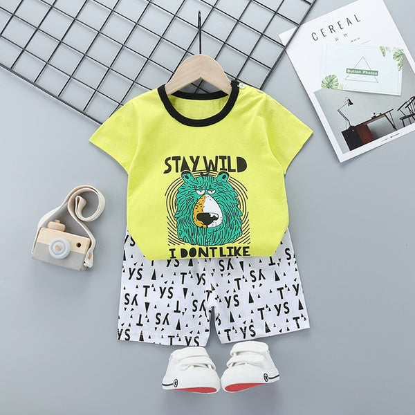 Baby Clothing Sets 0 24M summer - Juniorshopstyle