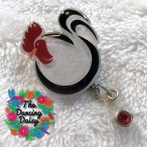 Chicken / Hen Badge Reel