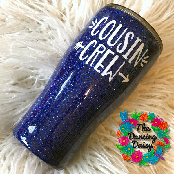 Cousin Crew 30 oz tumbler - your choice of colors