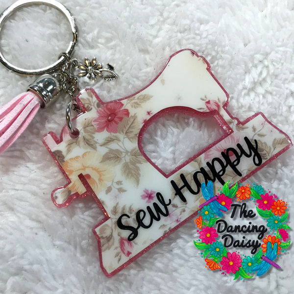 Sewing Machine acrylic keychain
