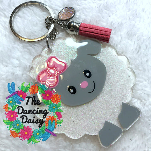 Sheep baby keychain