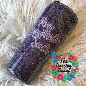 "32 oz Ursula themed ""Poor Unfortunate Souls"" Tumbler"