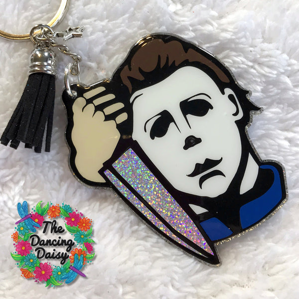 Michael Myers - Halloween movie keychain