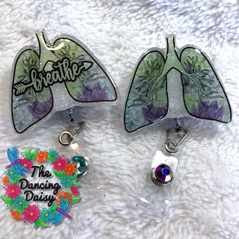 Lungs Badge Reel