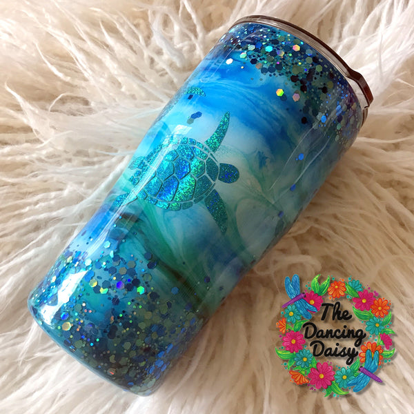 20 oz Sea Turtle tumbler