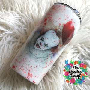 It Clown - Pennywise (alternate quote) 20 oz double walled tumbler