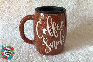 Coffee Snob - 14 oz traditional mug