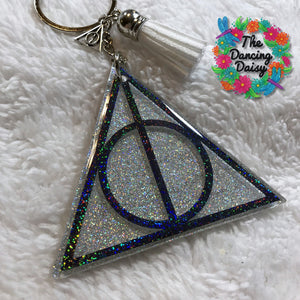 Harry Potter - Deathly Hallows symbol acrylic keychain