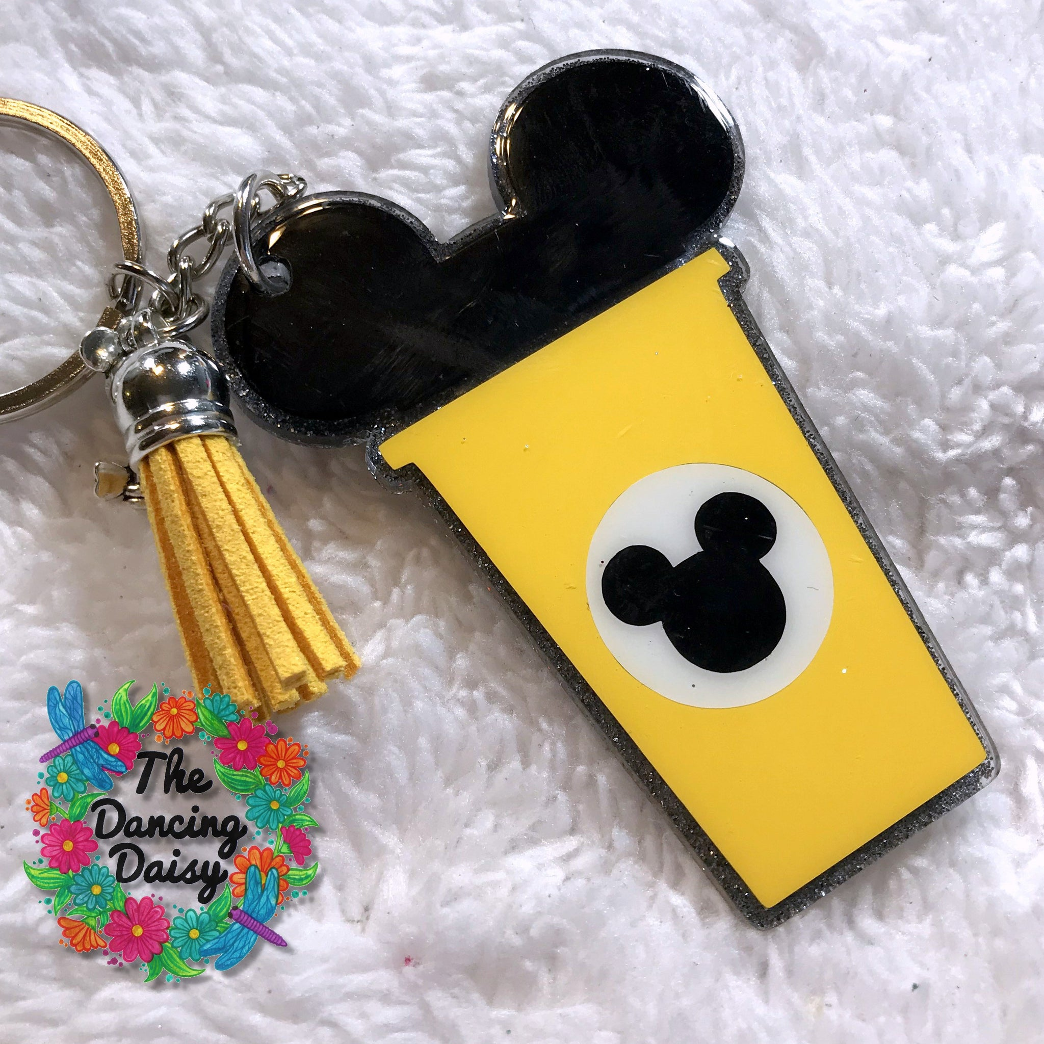 Mickey Coffee cup keychain