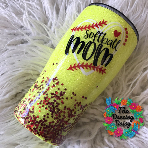 Softball Mom 20 oz double walled tumbler