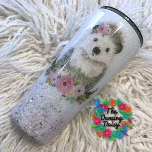 22 oz Hedgehog tumbler