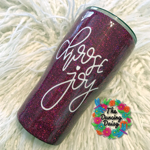 20 oz Choose Joy tumbler