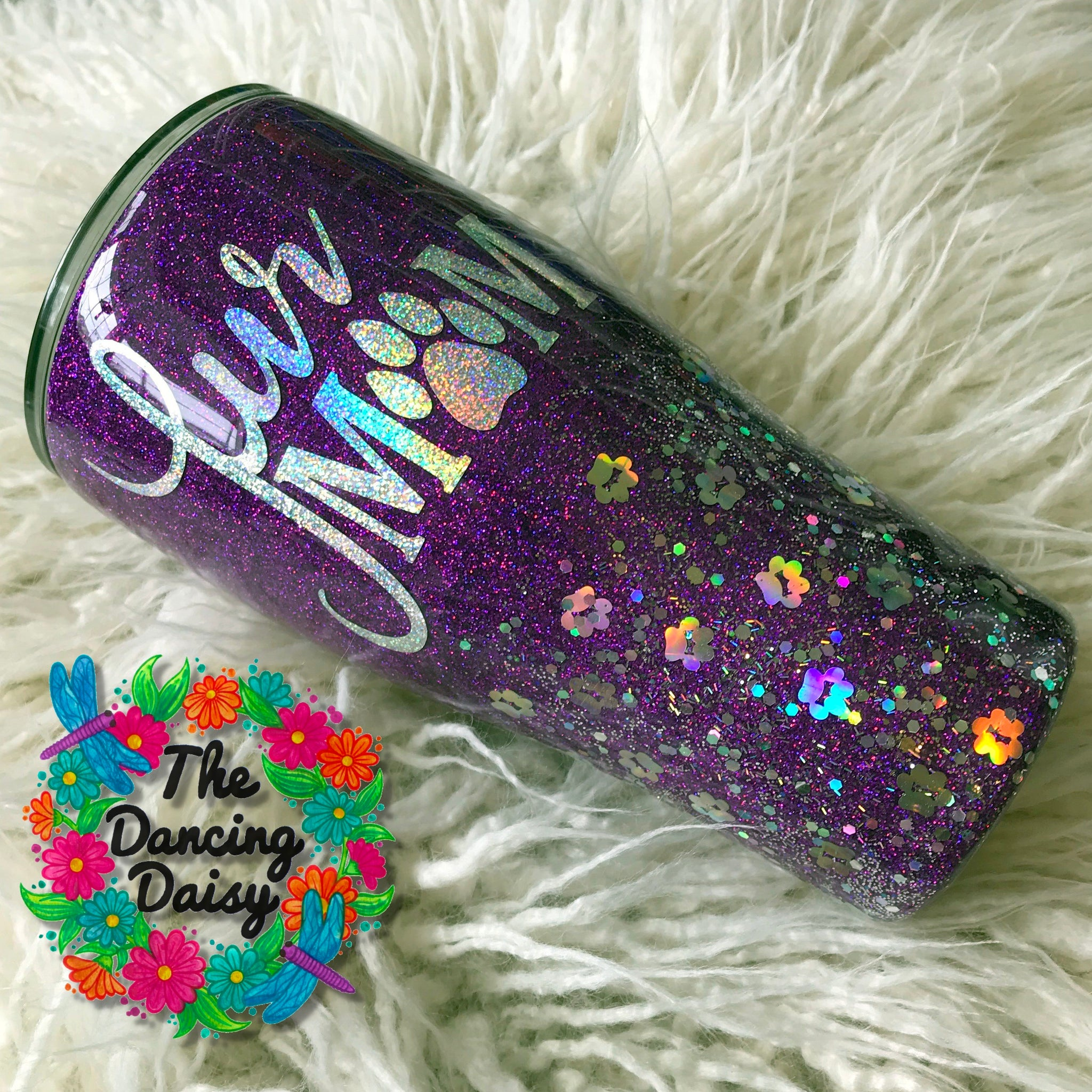 30 oz  Fur Mom tumbler