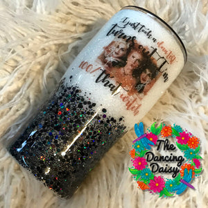 "20 oz  Sanderson Sisters Hocus Pocus ""100 % That witch""  tumbler"