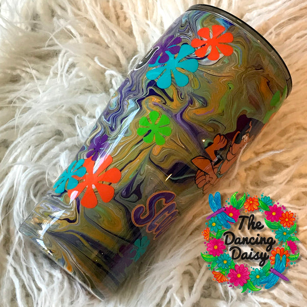 30 oz Scooby Doo cartoon inspired tumbler