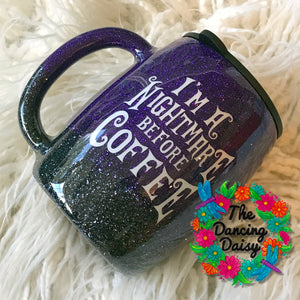 14 oz Nightmare Before Coffee mug