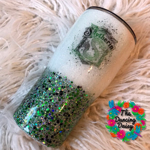 20 oz Slytherin tumbler