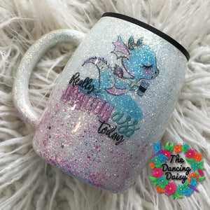 "14 oz mug  - ""Dragon"" ass"