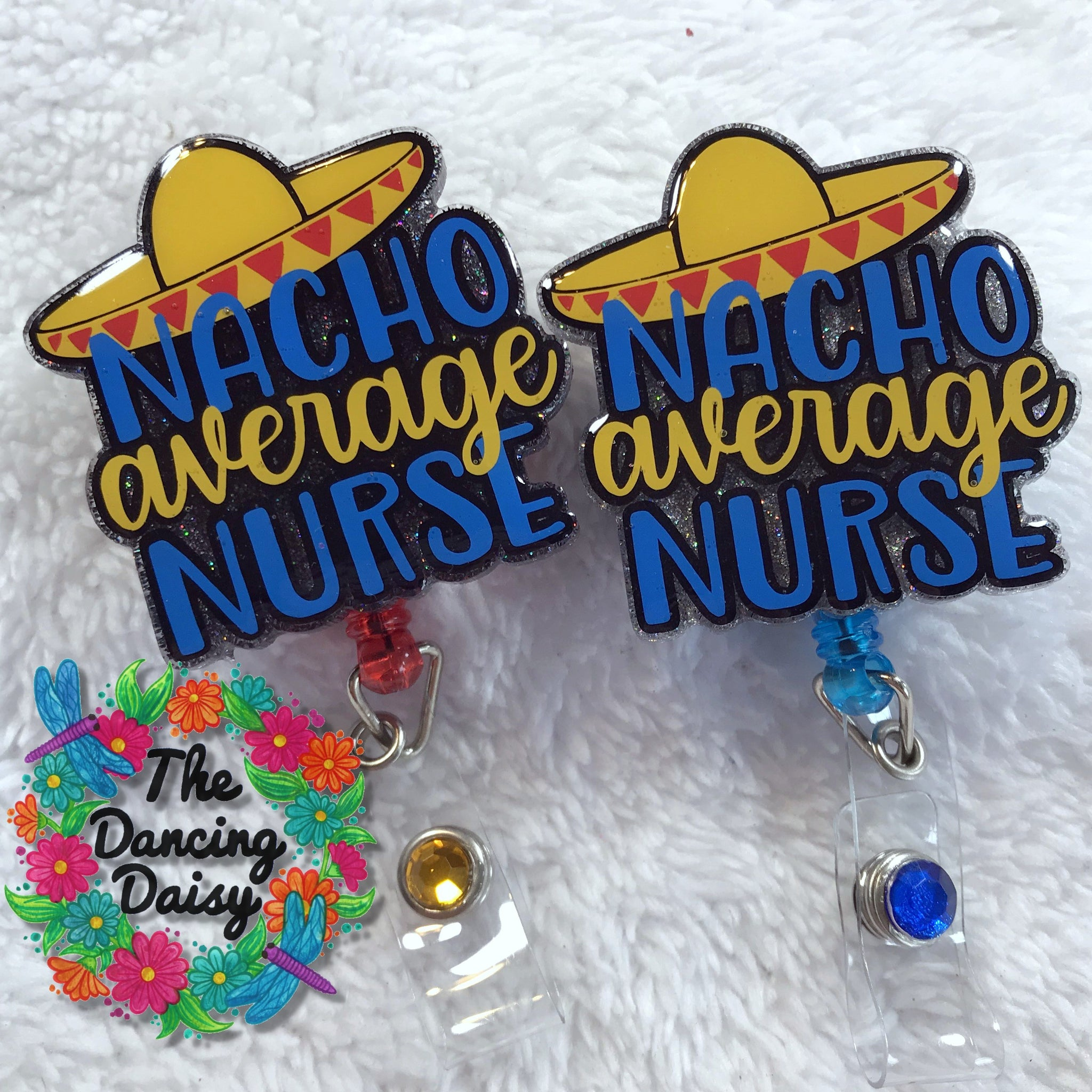 Nacho Average Nurse Badge Reel