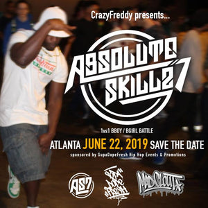 Join is in Atlanta @ ABSOLUTE SKILLZ 7 on 6.22.19