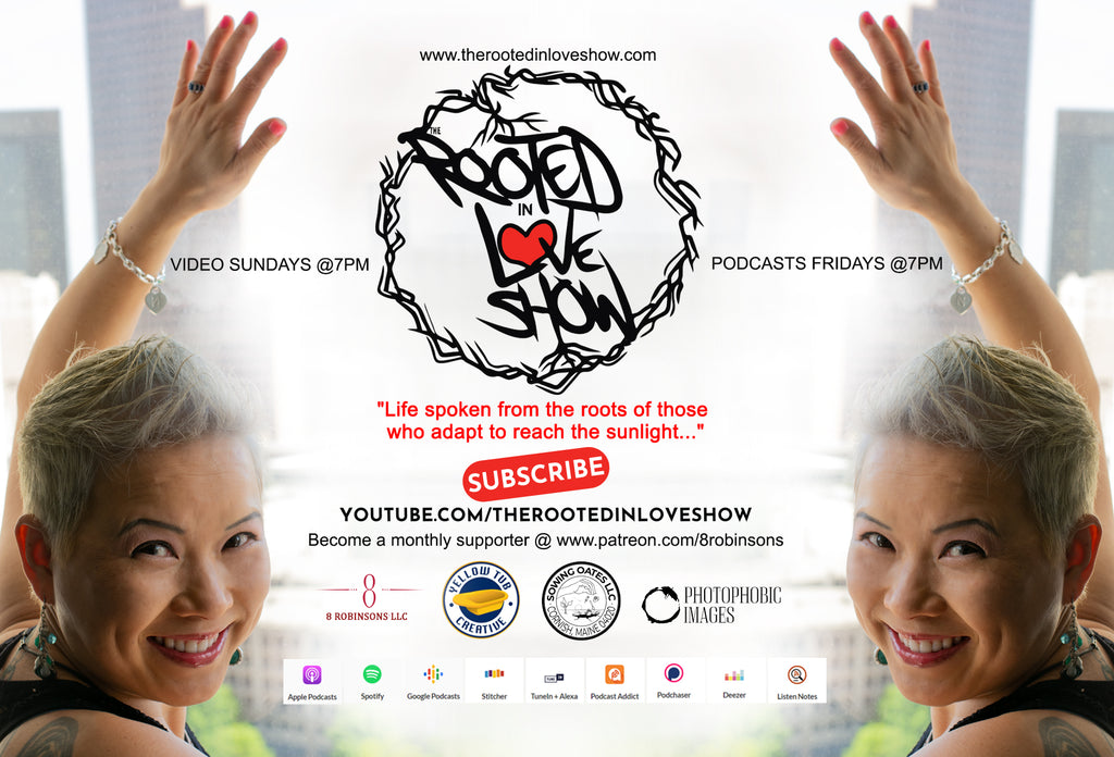 The Rooted in Love Show hosted by #themrobinsonboys