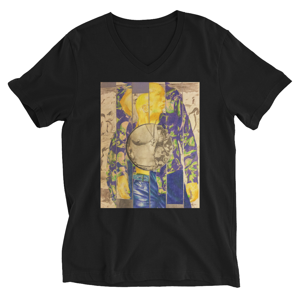 """Gold 1994"" Unisex V-Neck T-Shirt"