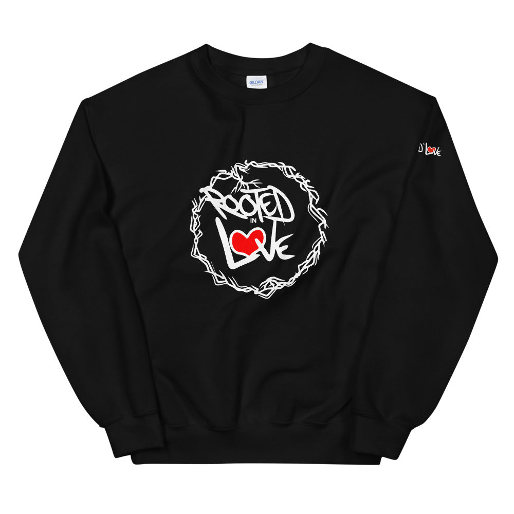 The Rooted in Love Show Unisex Sweatshirt (Light Print)