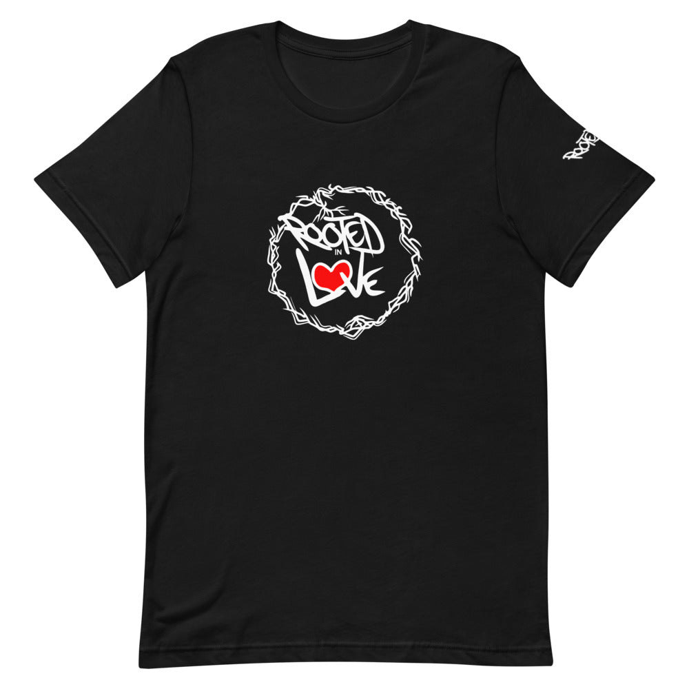 The Rooted in Love Show Short-Sleeve Unisex T-Shirt (Light Print)