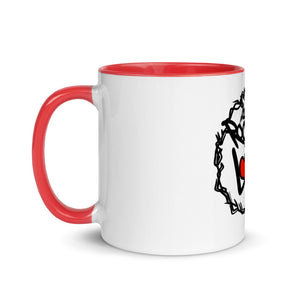 The Rooted in Love Show Mug with Color Inside