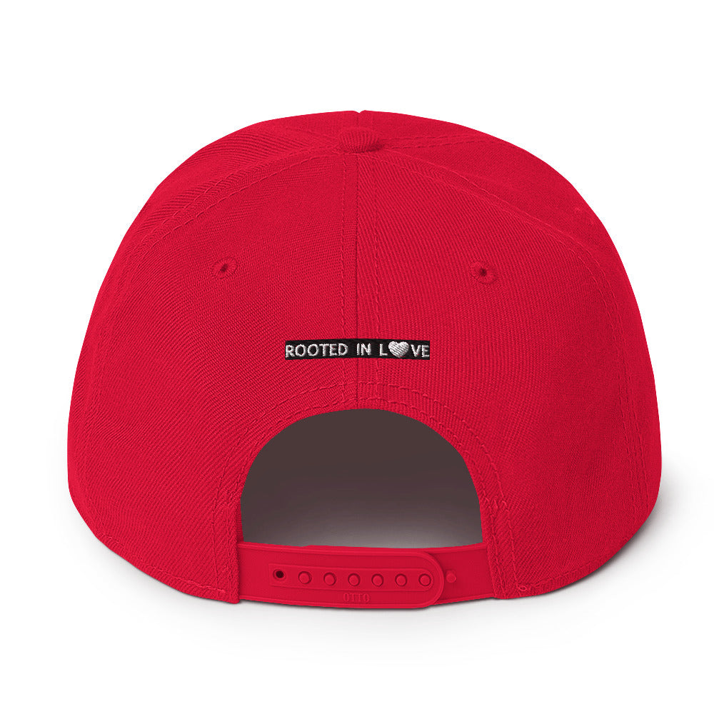 The Rooted in Love Show Snapback Hat