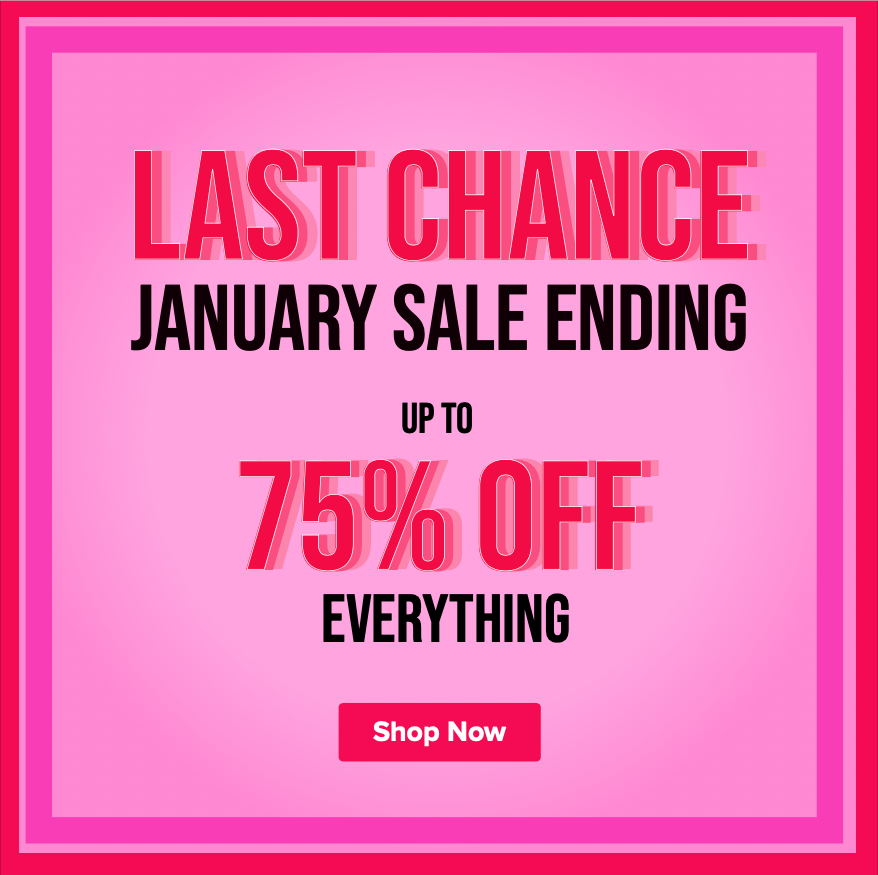 HURRY! -  Last Chance to Nab the Clearance SALE!