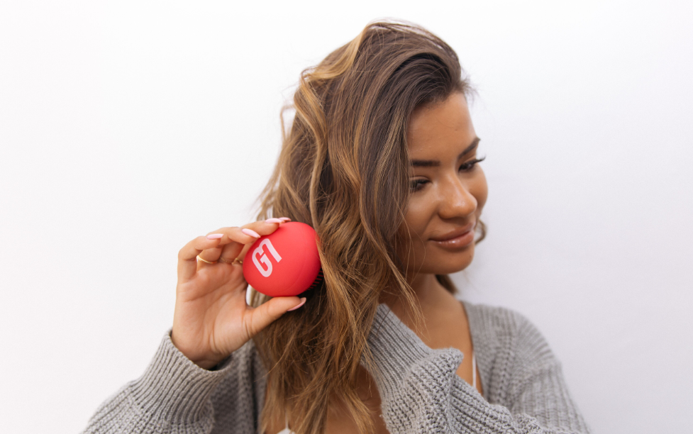 The Detangling Hairbrush By Give Me