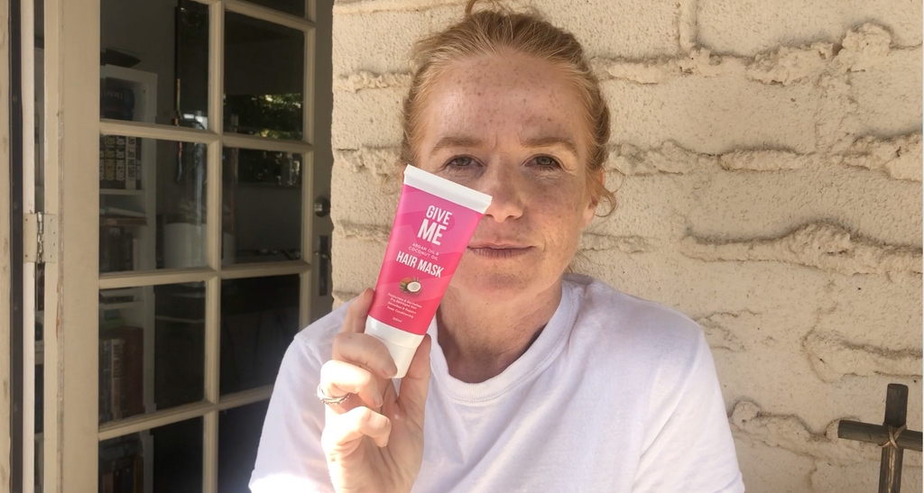 Patsy Palmer Hack to a Last-Minute Hair Fix