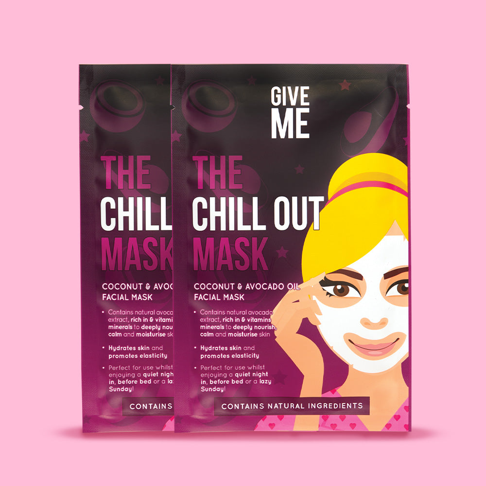 2 x The Chill Out Mask - Coconut and Avocado Oil Facial Mask