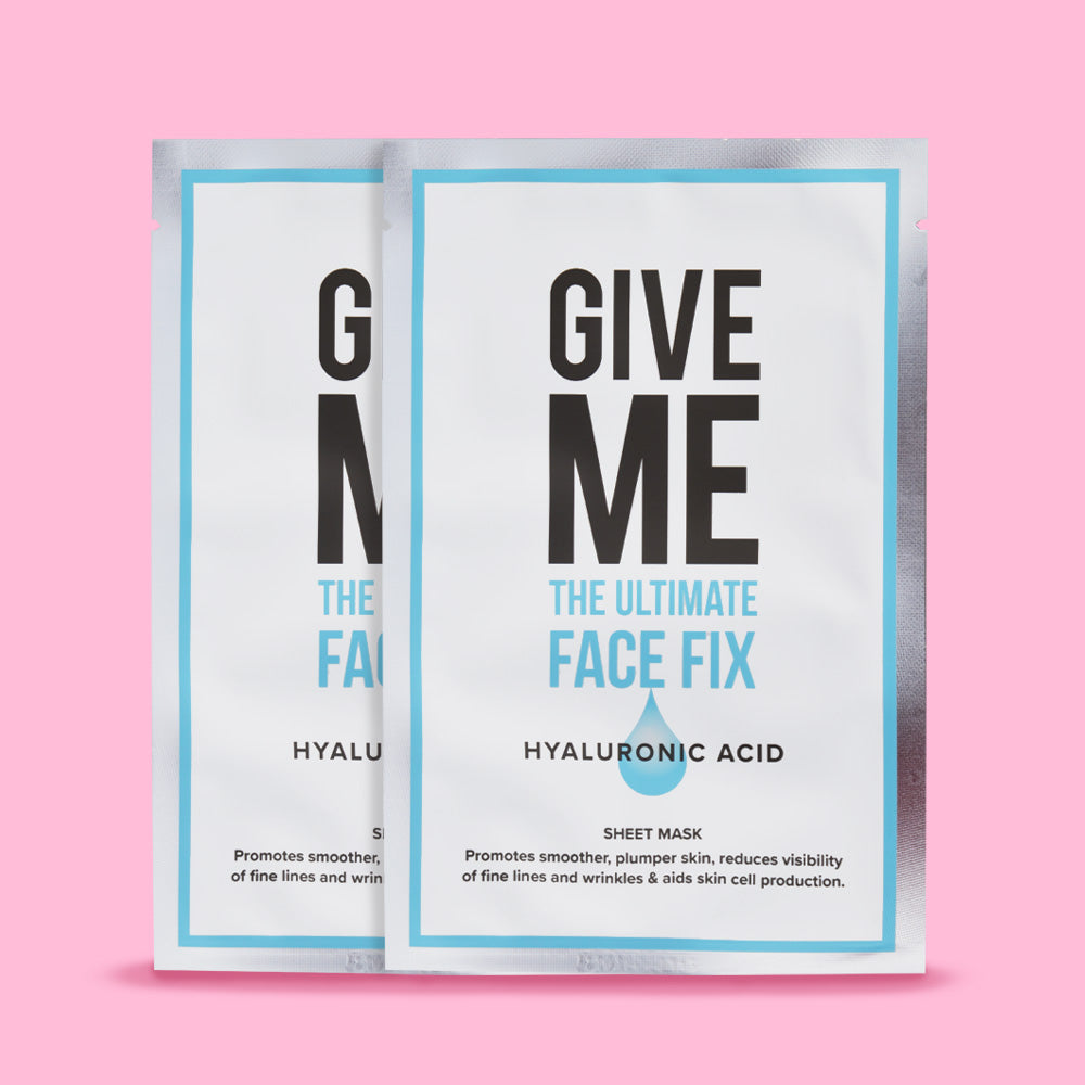 Twin Pack - Hyaluronic Acid Sheet Masks
