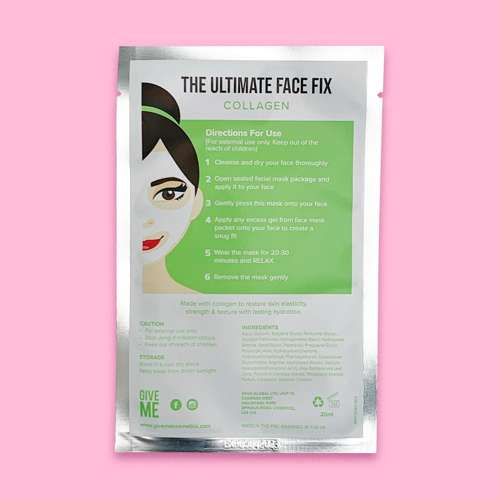 Twin Pack - The Collagen Sheet Masks