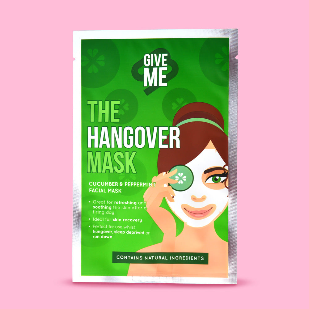 The Hangover Mask - Cucumber & Peppermint Oil Facial Mask
