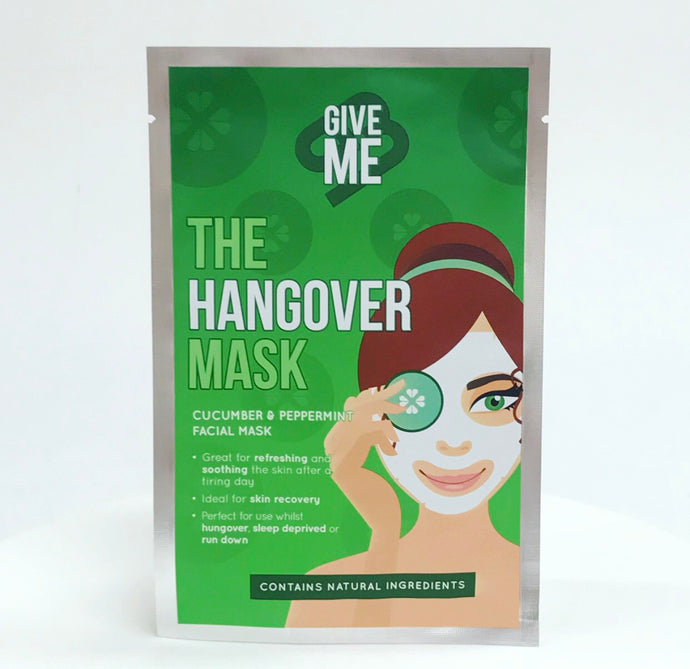*£5.00* The Hangover Mask - Cucumber & Peppermint Oil Facial Mask