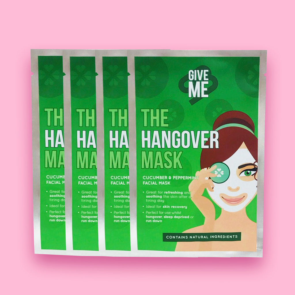 4 x The Hangover Mask