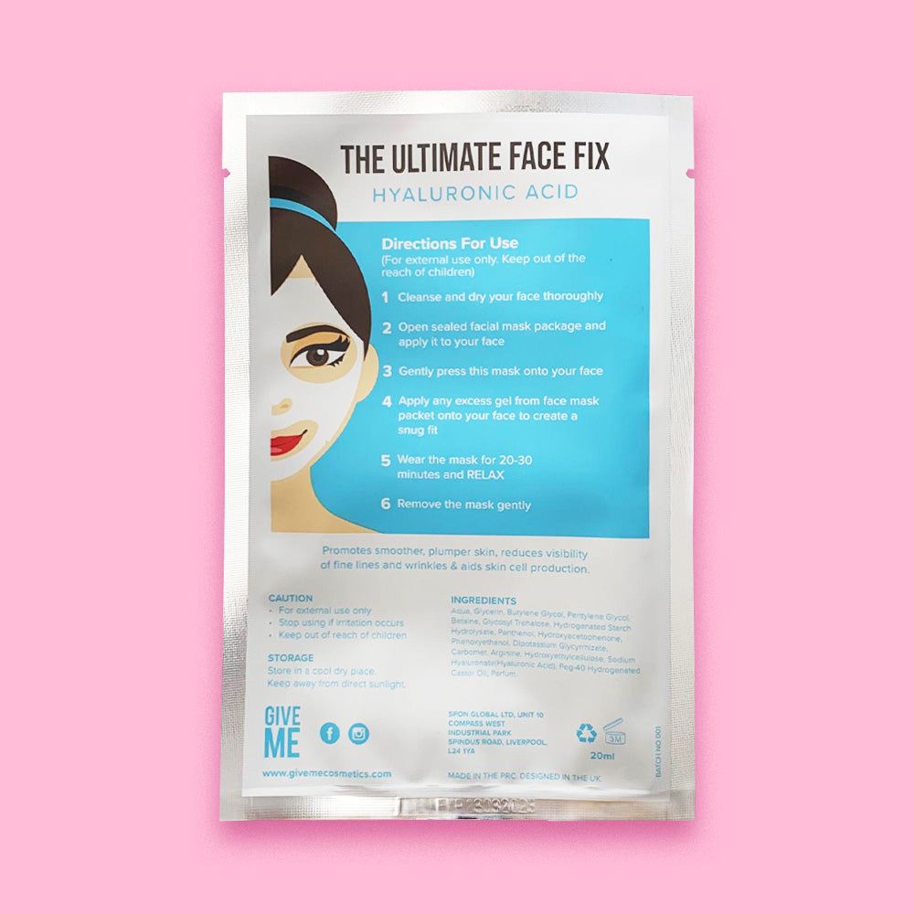 Twin Pack - Hyaluronic Acid & Collagen Sheet Masks