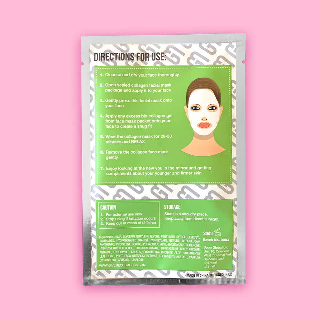 4 x Ultimate Face Fix Sheet Mask - Christmas Edition