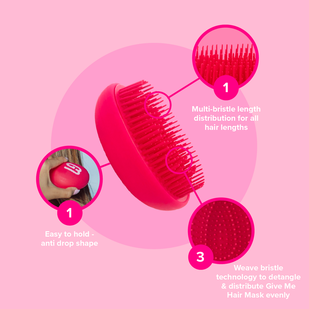 Hair Mask & Brush Bundle