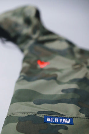 Camo Anorak Hooded Jacket