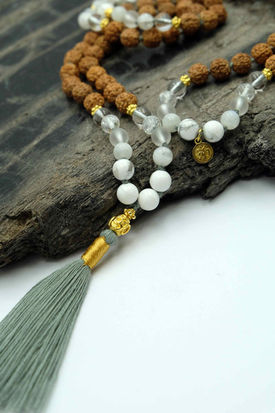 """Inner Peace"" Mala necklace"